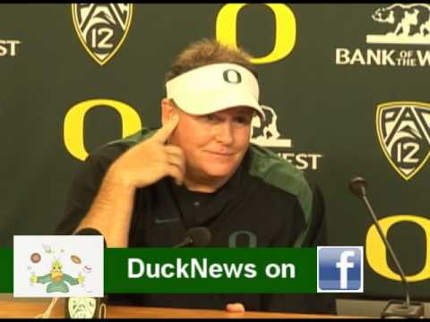 Oregon Head Coach Chip Kelly's Arizona Post Game Press Conference