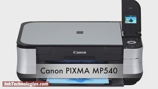 Canon PIXMA MP540 Instructional Video