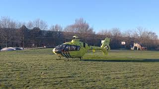 Ambulance helikopter Almere