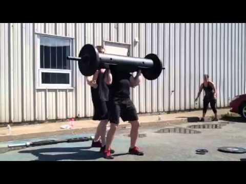 Rob King Rogue Strongman Log Lift