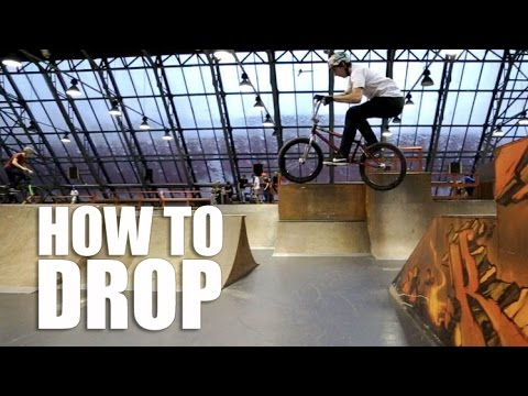 How to Drop BMX, MTB (Как сделать Дроп на велосипеде БМХ, МТБ) | Школа BMX Online #18
