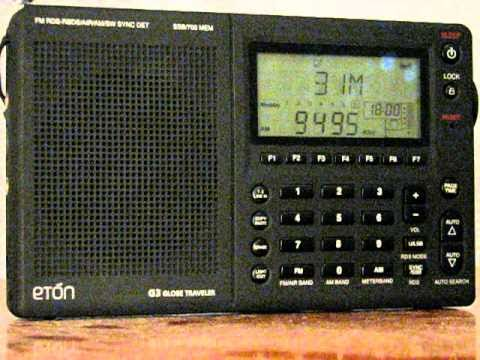 SW: Radio Liberty 9495 KHz Lampertheim, Germany 2010-09-19