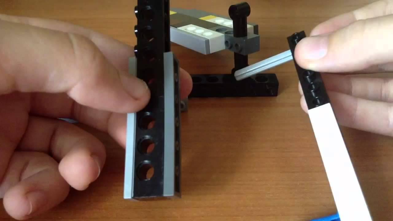 Как сделать нож-бабочка из лего
