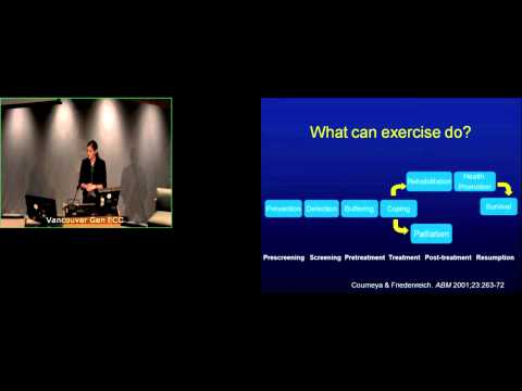 A Field in Motion: An Update on Rehabilitation & Exercise for Cancer - Dr. Kristin Campbell - Part 1