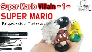 How to make 'Super Mario villain Kupa Cluster Polymer Clay' [Game Character] [Toyfull TV]