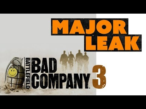 Battlefield Bad Company 3 HUGE LEAK! EA Ditching Microtransactions?
