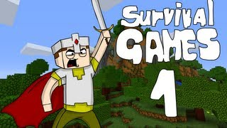 [GEJMR] Minecraft - SurvivalGames - ep 1 -Krokodýlí pyžamo
