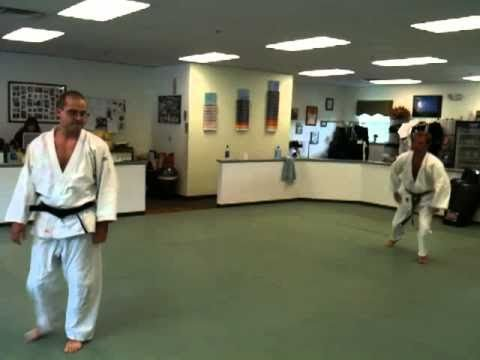 Dan German Judo Nage-No-Kata.MOV