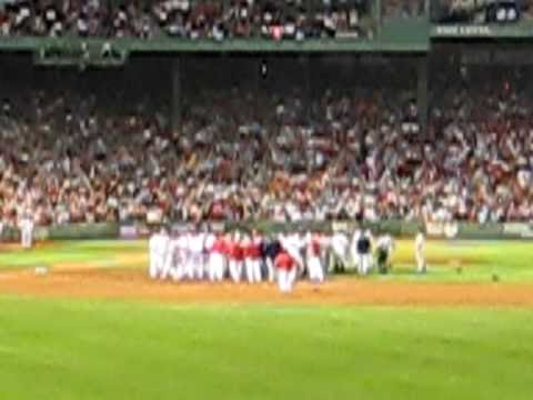 Kevin Youkilis vs Rick Porcello fight aftermath 8/11/09 Video
