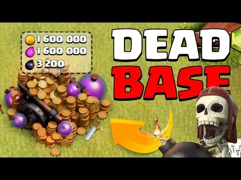 THIS ACCT HAS BEEN DEAD FOR YEARS   Clash of Clans   Full Loot Cart
