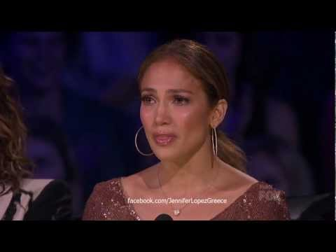 Jennifer Lopez Cries at American Idol's Top 13 Final