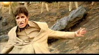 Indian Movie - Khakee - Drama - Action Scene - Amitabh Bachchan - DCP Fights Like A Wounded Tiger