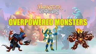 Monster Legends   Easiest Multiplayer Battle Wins!   OP Monsters Team Gameplay