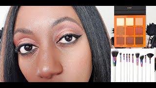 Beauty Bay Own Brand EYN Brushes & Fiery Eyeshadow Palette Review
