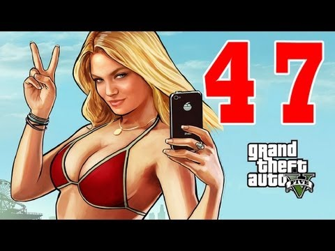 Let´s Play Grand Theft Auto 5 / GTA V Gameplay Deutsch - Part 47 - Sex mit einem Teddybär