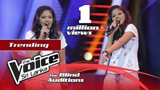 Vidumini Rathnayaka - Whenever, Wherever | Blind Auditions | The Voice Sri Lanka