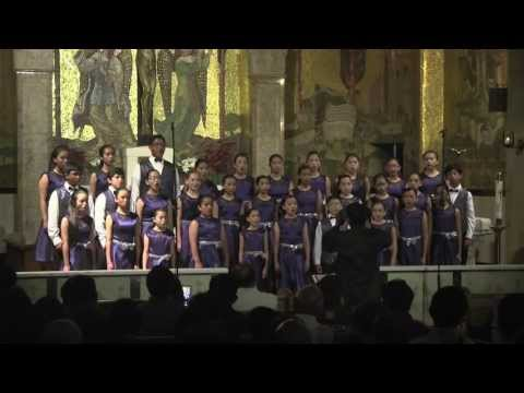 Immaculate Heart of Mary Children's Choir - bist du bei mir - BWV 508