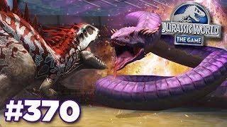NEW BOSS TITANOBOA SNAKE!!! | Jurassic World - The Game - Ep370 HD