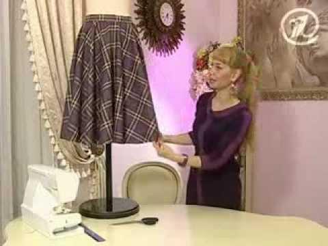 Сшить юбку солнце своими руками с ольгой никишичевой