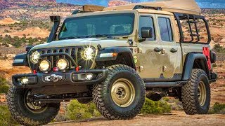 2020 Jeep Wayout Gladiator - Review And Features