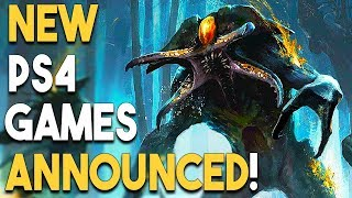 NEW PS4 GAMES ANNOUNCED! INSANE PSVR DEAL!