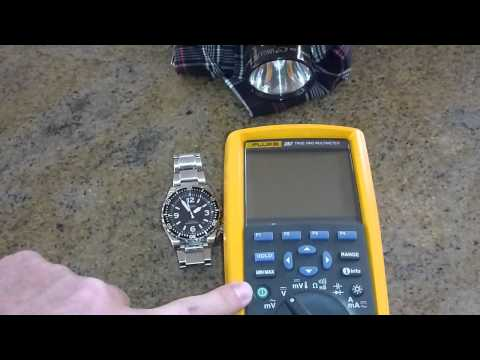 Fluke 287 / 289 multimeter fault  / bug / issue / problem