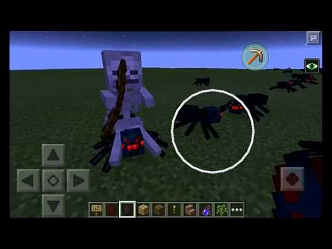 Minecraft spider jockey in real life