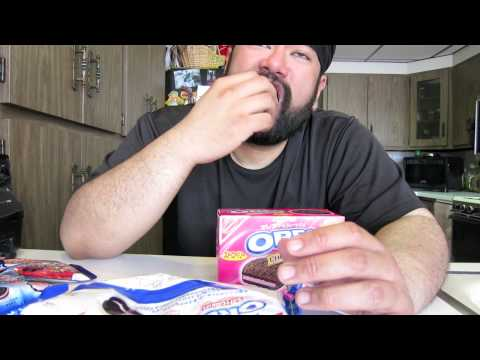 Snack Review 3 - Oreo Strawberry Festival