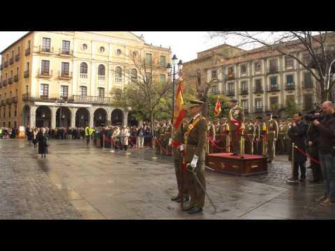 Día de Santa Bárbara en Segovia. Academia de Artillería. Jura de bandera 4/12/2012  (4)