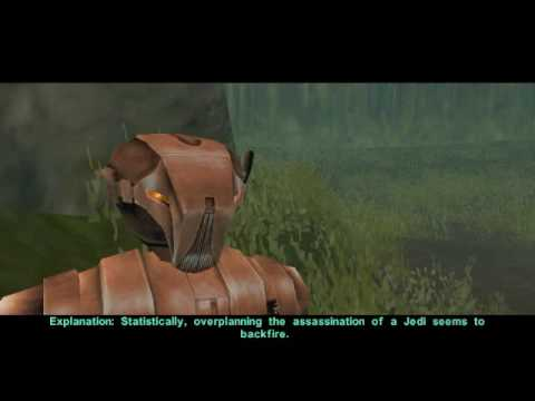 KotOR 2 HK-47: How to Kill Jedi