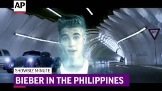 ShowBiz Minute: Murray, Bieber, Cyrus