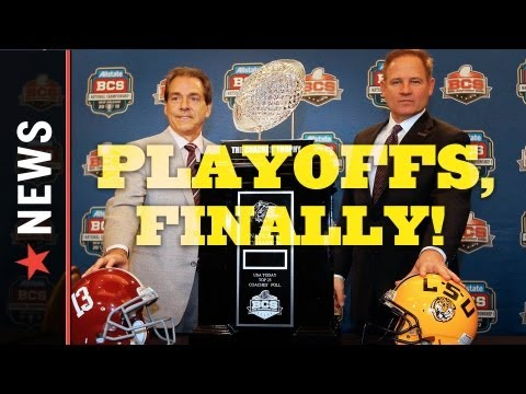 College Football Playoff System, At Long Last