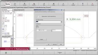 MarSurf XC20 FI Radiusmessung Video KJG DE
