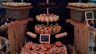 Dessert set up