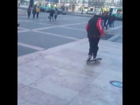 Assist by @anibal_martins 🎯🕴🏻@instatiago 📲: @ruisoaresk8 🚀🔌 | Shralpin Skateboarding