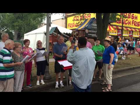 Classical MPR Morning Sing at the MN State Fair