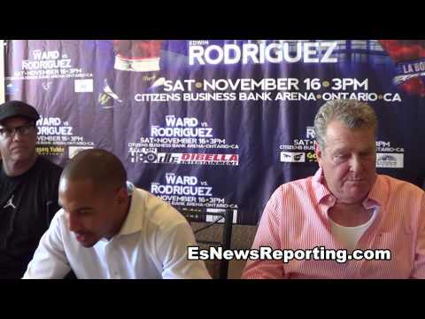 Andre Ward vs Edwin Rodriguez full press conference - EsNews Boxing