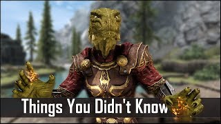 Skyrim: 5 Things You Probably Didn't Know You Could Do - The Elder Scrolls 5: Secrets (Part 16)