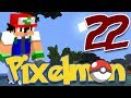 Minecraft Pixelmon Ep. 22 - Battle Time !!!