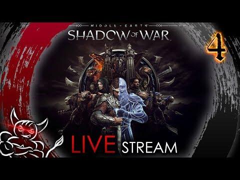 Middle Earth Shadow of War - [#3] Тренируем Чемпиона !