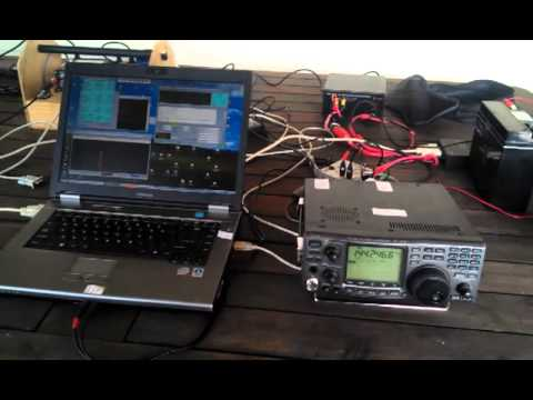 VK7MO 10 GHz Small Dish EME Demo