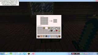 Minecraft vesnice 7 nůžky,kbelík,dveře,postel,dort,chléb,křeslo a pohovka