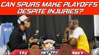 Will Spurs Miss Playoffs Without Dejounte Murray? | Hoops N Brews