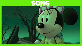 Mickey and the Roadster Racers | Haunted House Party Song | Disney Junior UK