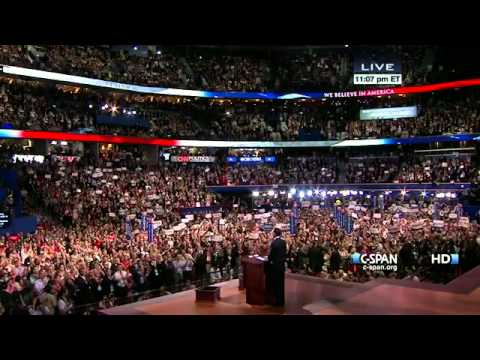 Romney and RNC delegates laugh and celebrate their utter rejection of climate science