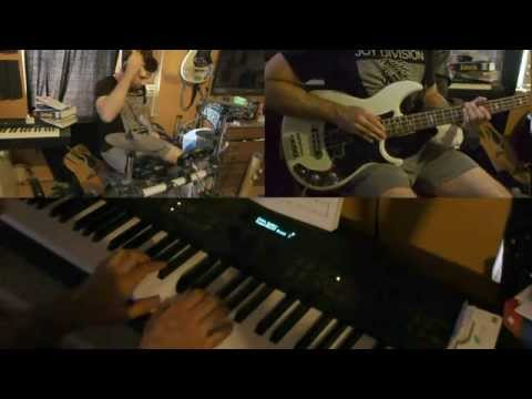 Six Million Dollar Man Theme Tv Cover Piano Bass Drums Adam Monroe video