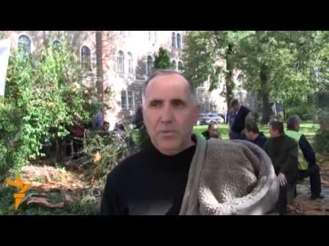 Sarajevo: Protest radnika Unis-Pretisa