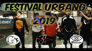 Festival Urbano 2019 / 2 vs 2 BREAKING / Semifinal / K.C. vs Gravity Pachuca.