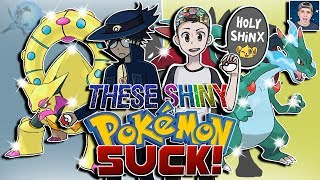 10 Shiny Pokémon I HATE that TheSupremeRk9s Loves