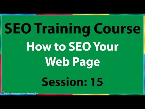 15 How to SEO Your Web Page for Google